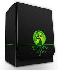 Deck Box - Elemental Medallion, Green