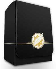 Deck Box - Elemental Medallion, White
