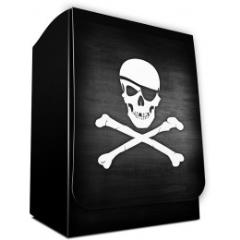 Deck Box - Pirate Flag