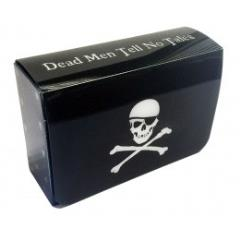 Magnetic Double Deck Box - Jolly Roger Pirate Flag