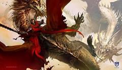 Playmat - Crimson Rider