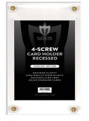 4 Screw Card Holder - Recessed
