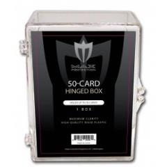 50 Card Hinged Box