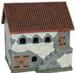 Spanish Tiled Roof Stable