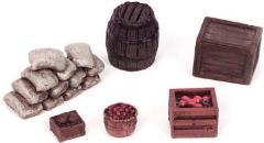 Medieval Barrels & Crates