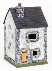 Small Stucco Townhouse (White)