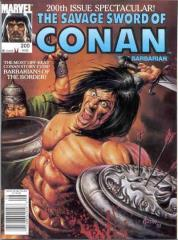 Savage Sword of Conan the Barbarian, The #200