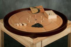 "Crokinole 26"" Tournament Board - Beech Wood"