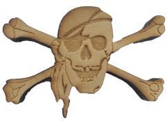 Dead Man's Draw - Pirate Token
