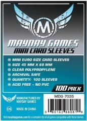 Mini Euro Card Sleeves (100)