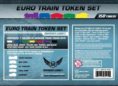 Euro Train Token Set