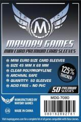 Mini Euro Premium Card Sleeves (50)
