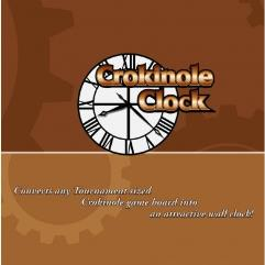 Crokinole Clock