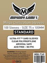 Mega Civilization Sleeves - 75mm x 105mm (100)