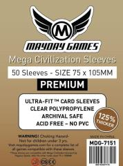 Mega Civilization Sleeves - 75mm x 105mm (50)