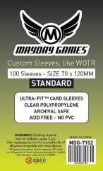 Tarot Card Sleeves - 70mm x 120mm (100)