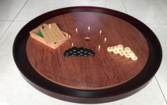 "Crokinole 26"" Tournament Board - Rosewood"