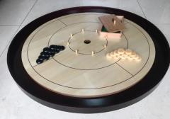 "Crokinole 26"" Tournament Board - Maple Wood"