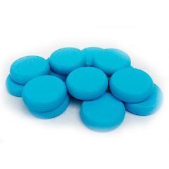 Crokinole Wooden Discs - Light  Blue