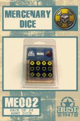 Dice Set - Mercenary (24)