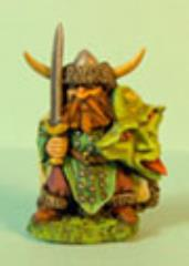 Dwarf Defending w/Sword