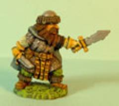 Dwarf Thrusting w/Sword