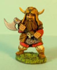 Dwarf Defending w/Axe