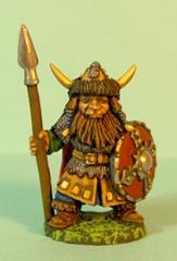 Dwarf w/Spear & Shield