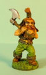 Dwarf Advancing w/Axe #1