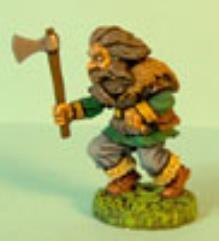 Dwarf Advancing w/Axe #2