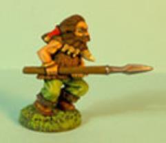 Dwarf Advancing w/Spear #2
