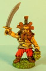 Dwarf w/Sword Raised