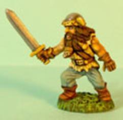 Dwarf Advancing w/Sword #2