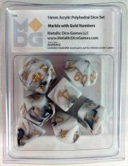 Marble w/Gold (7)