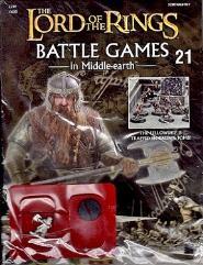 """#21 """"w/Gimli - Dwarven Hero Miniature"""""""