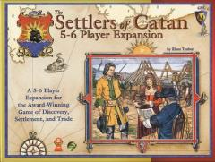 Settlers of Catan, The - 5-6 Player Expansion (1st Edition)