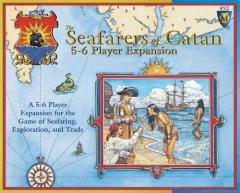 Seafarers of Catan, The - 5-6 Player Expansion (1st Edition)