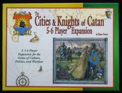 Cities & Knights of Catan, The - 5-6 Player Expansion (1st Edition)