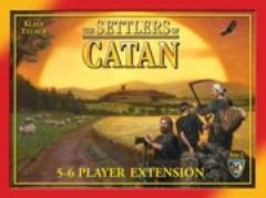 Settlers of Catan, The - 5-6 Player Extension (Revised Edition)