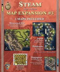 Map Expansion #3 - Westward Ho!, Japan, Hokkaido, & Singapore