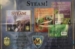 Steam Advertisement Poster