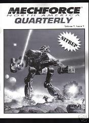 "Vol. 1, #1 ""Heavy BattleMechs"""