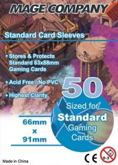 66x91mm Standard Card Sleeve (10 Packs of 50)