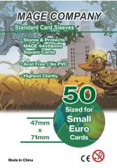 47x71mm Standard Card Sleeves (10 Packs of 50)