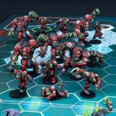 Greenmoon Smackers - Marauder Team (League Edition)