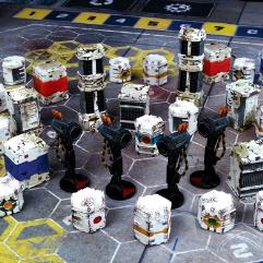 Dreadball Xtreme - Obstacles and Accessories