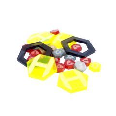 Dreadball Xtreme - Acrylic Counters, Yellow