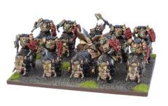 Slave Orc Gore Rider Regiment