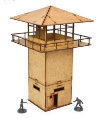 Game Booster - Prison Tower MDF Kit