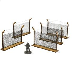 Game Booster - Chain-Link Fences MDF Kit